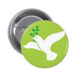 La paz de encargo se zambulló con el logotipo verd pin