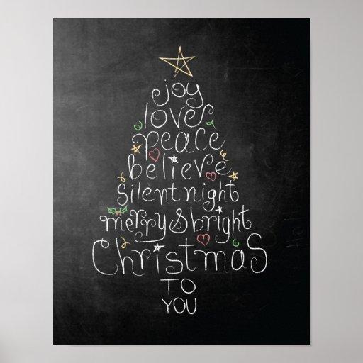 La paz de la alegría del amor del poster del navid