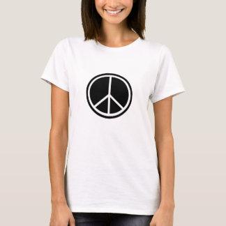 La paz de los hippies de Woodstock y ama la Playera