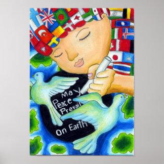 La paz de mayo del de los Pals de la paz prevale Poster