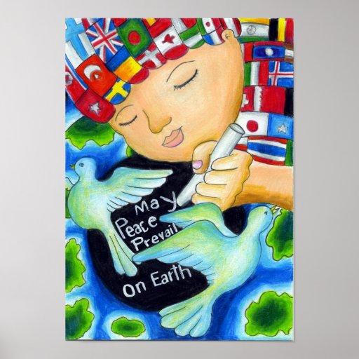 La paz de mayo del ~ de los Pals de la paz prevale Poster