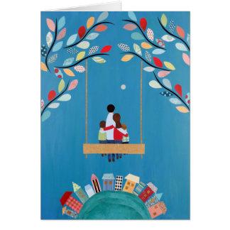 La paz de mayo sea sobre nosotros tarjeta de felic