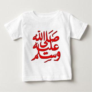 La paz de Mohamed esté sobre él Playera