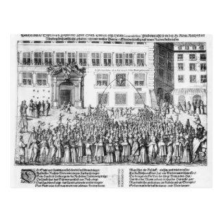 La paz de Nuremberg, el 25 de septiembre de 1649 Postal
