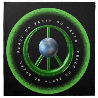 La paz de Valxart en la tierra va verde en 100+ pr Servilletas De Papel