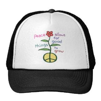 La paz deja para crecer gorras de camionero