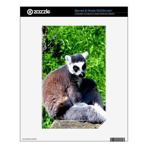 la paz del mono del lemur y se relaja skins para NOOK color