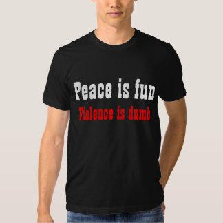 La paz es diversión playera