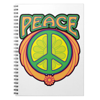 La paz es la manera libreta