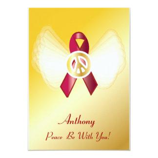 ¡La paz esté con usted! Cinta de la enfermedad Anuncio