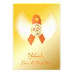 ¡La paz esté con usted! Cinta-Personalizar de la l