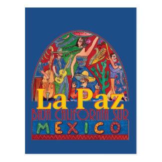 LA PAZ Mexico Postcard