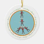 La paz Monkeys el ornamento Ornamente De Reyes