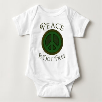 La paz no está libre body para bebé