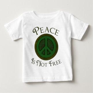 La paz no está libre playera de bebé