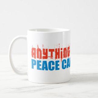 La paz puede hacer mejor taza clásica