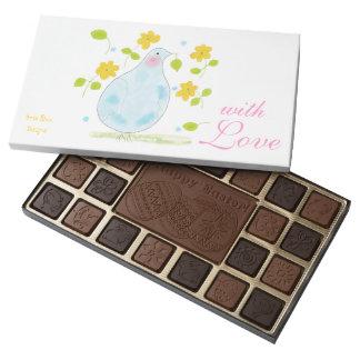 La paz se zambulló con la caja del chocolate de caja de bombones variados con 45 piezas