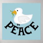 La paz se zambulló (el poster grande)