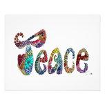 La paz sea con usted poster/impresión impresión fotográfica