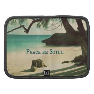 La paz siga siendo verso de la biblia con el océan