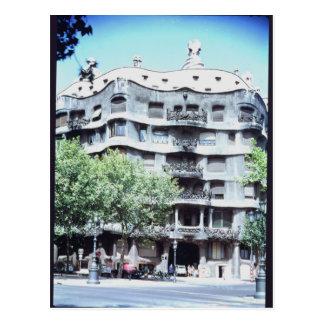 La Pedrera o casas Mila, 1905-10 Tarjetas Postales