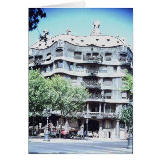 La Pedrera or Casa Mila, 1905-10 Card