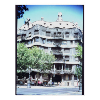 La Pedrera or Casa Mila, 1905-10 Postcard