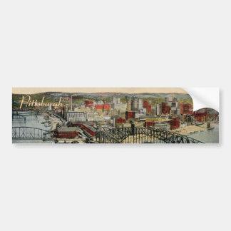 La pegatina para el parachoques 1931 del punto de pegatina de parachoque