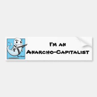 La pegatina para el parachoques de Anarcho del fan Pegatina Para Auto