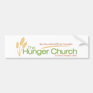 La pegatina para el parachoques de la iglesia del  pegatina para auto