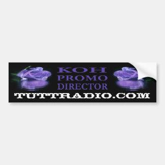 La pegatina para el parachoques de la KOH de radio Pegatina Para Auto