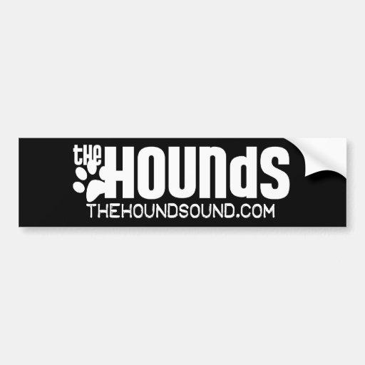 La pegatina para el parachoques de los perros etiqueta de parachoque