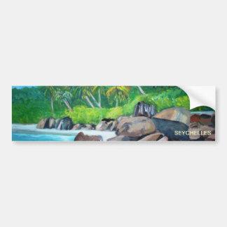 La pegatina para el parachoques de Seychelles Pegatina Para Auto
