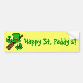 La pegatina para el parachoques de St Patrick del Pegatina De Parachoque