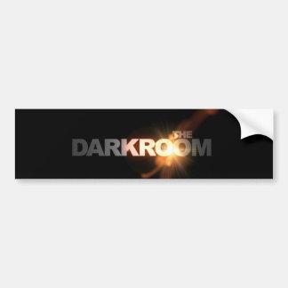 La pegatina para el parachoques del cuarto oscuro pegatina para auto