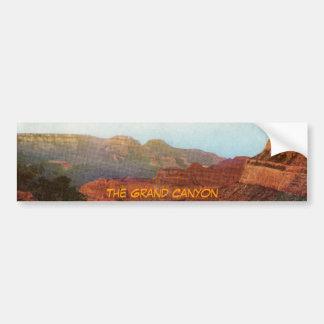 La pegatina para el parachoques del Gran Cañón Pegatina Para Auto