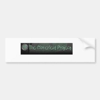 La pegatina para el parachoques del proyecto del C Pegatina De Parachoque