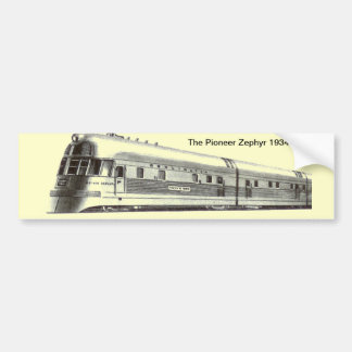 La pegatina para el parachoques pionera 1934 del Z Etiqueta De Parachoque