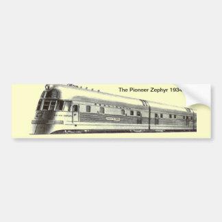 La pegatina para el parachoques pionera 1934 del Z Pegatina Para Auto