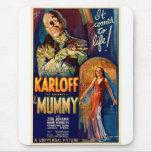 La película de la momia 1932 alfombrilla de ratón