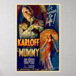La película de la momia 1932 impresiones