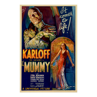 La película de la momia 1932 póster