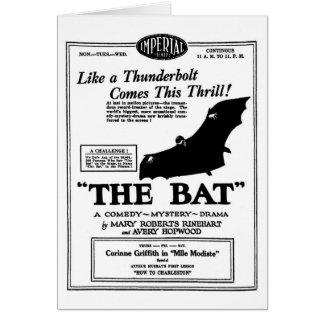 La película muda 1926 de la comedia del misterio d tarjeta de felicitación