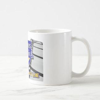 La película no miente taza de café