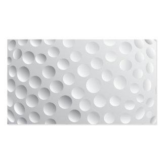 la PELOTA DE GOLF BLANCA golf_Ball2 SE DIVIERTE VE Tarjetas De Visita