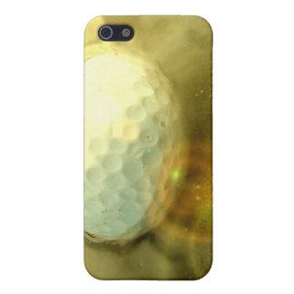 La pelota de golf se pegó en el caso del iPhone de iPhone 5 Protectores