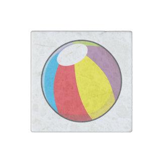 La pelota de playa plástica inflable de encargo imán de piedra