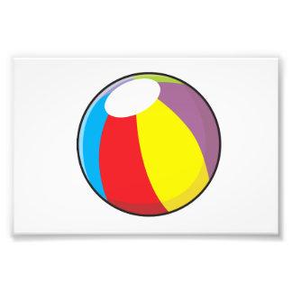 La pelota de playa plástica inflable de encargo fotos