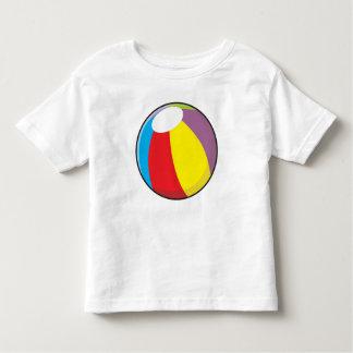 La pelota de playa plástica inflable de encargo camisetas