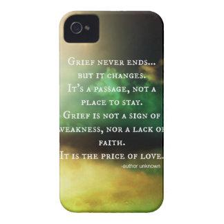 La PENA nunca termina iPhone 4 Case-Mate Fundas